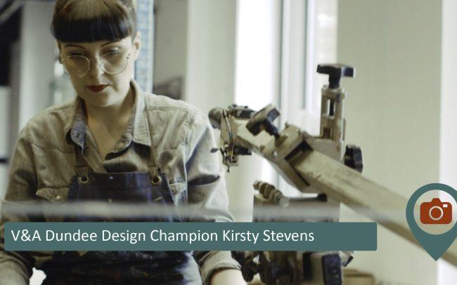 V&A Dundee Design Champion Kirsty Stevens