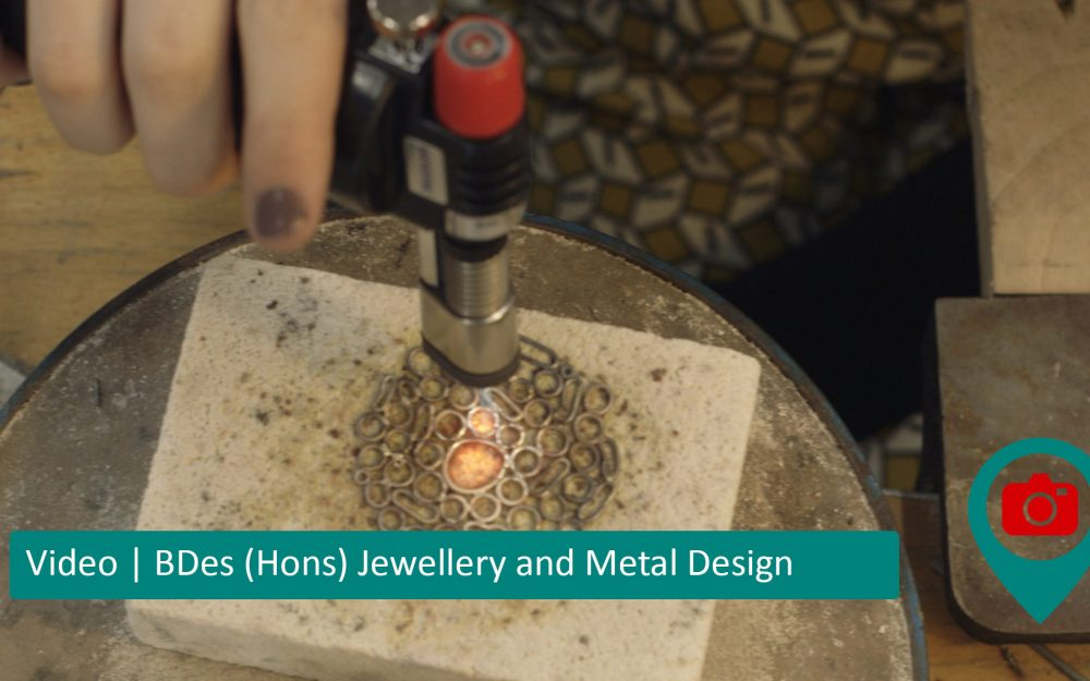 Video | DJCAD BDes (Hons) Jewellery and Metal Design